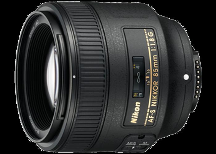 Nikon AF-S 85mm 1.8g Prime lens  - 1