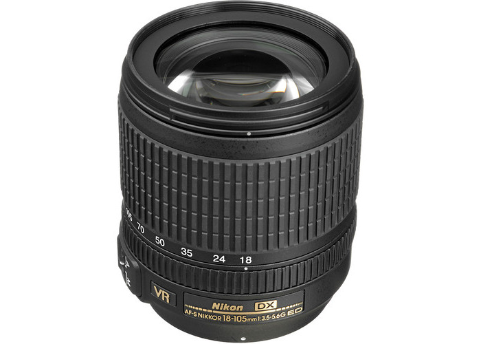 Nikon AF-S DX NIKKOR 18-105mm f/3.5-5.6G ED VR Lens (Open Box) - 1