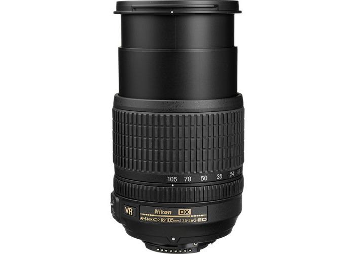 Nikon AF-S DX NIKKOR 18-105mm f/3.5-5.6G ED VR Lens (Open Box) - 2