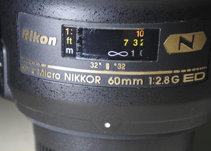 Nikon AF-S Micro NIKKOR 60mm 1:2.8G ED Macro Lens - 2