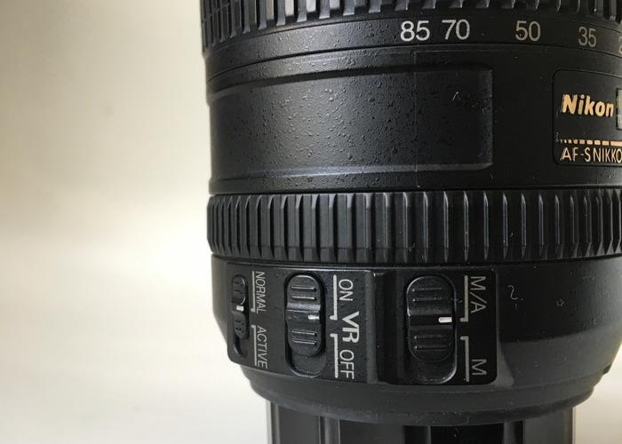 Nikon AF-S Nikkor 16-85mm 3.5-5.6 G ED DX Lens  - 1