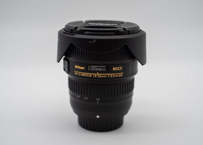 Nikon AF-S NIKKOR 18-35mm f/3.5-4.5G ED Lens - 1