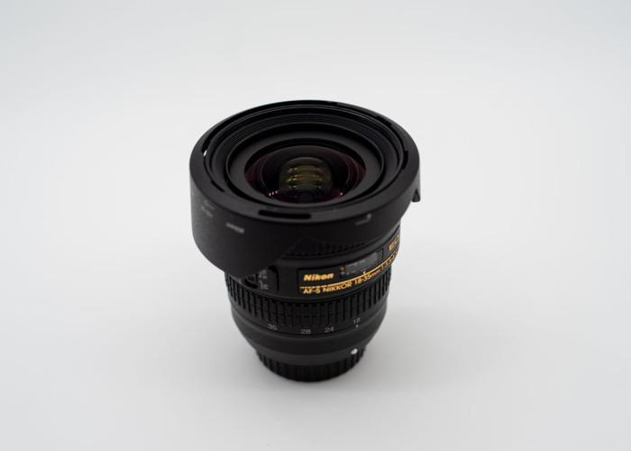 Nikon AF-S NIKKOR 18-35mm f/3.5-4.5G ED Lens - 2