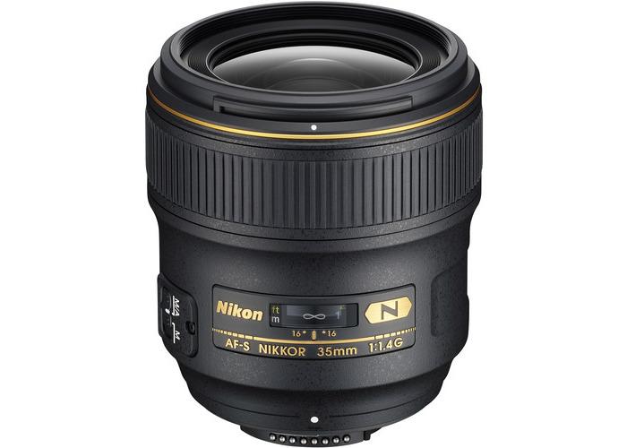 Nikon AF-S NIKKOR 35mm f/1.4G Lens (Refurbished by Nikon USA) - 1