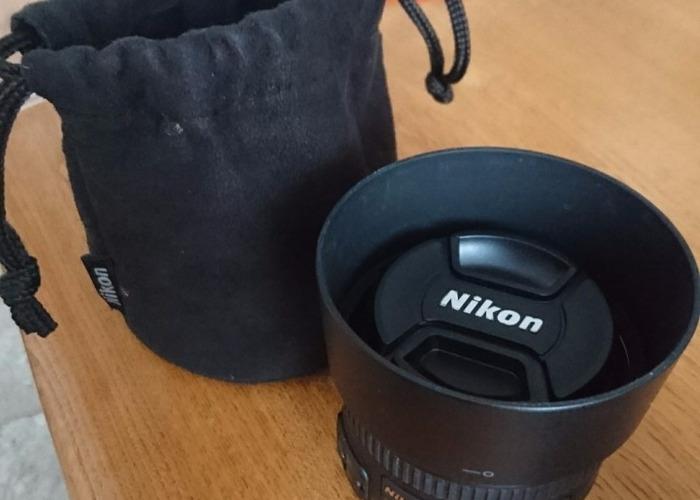 Nikon AF-S Nikkor 50mm 1:1 4G Camera Lens - 2