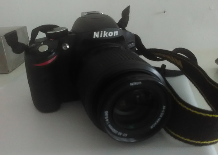 NIKON D3200  Body  and AF-S 55-200mm f/4-5.6G ED DX - 1