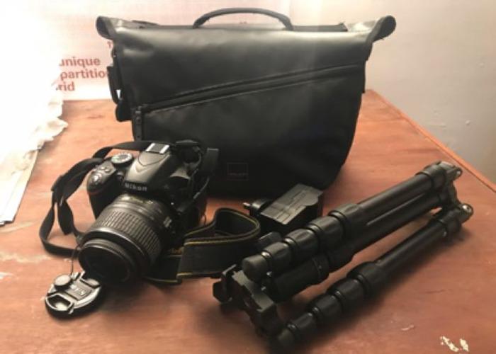 Nikon D3200 w/ travel tripod & Wireless trigger - 1