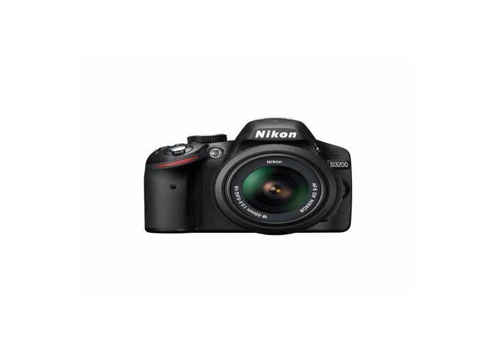 Nikon D3200 with 18-55mm lens - 1
