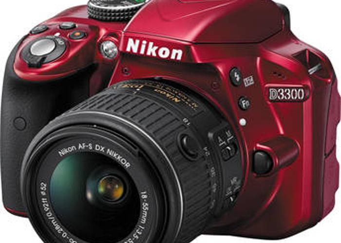 Nikon D3300 DSLR - perfect for travel!  - 1