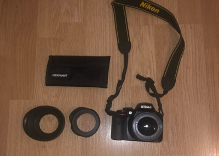 Nikon D3300 with accessories - 1