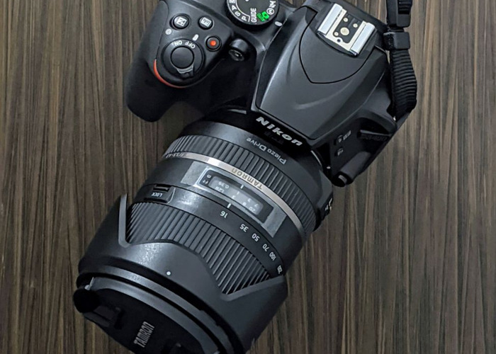Nikon D3300 Base Kit + Tamron 16mm-300mm + 32GB SD - 1