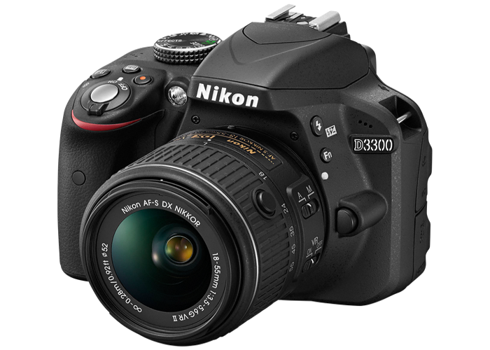 Nikon D3300 with Studio Lighting - 2