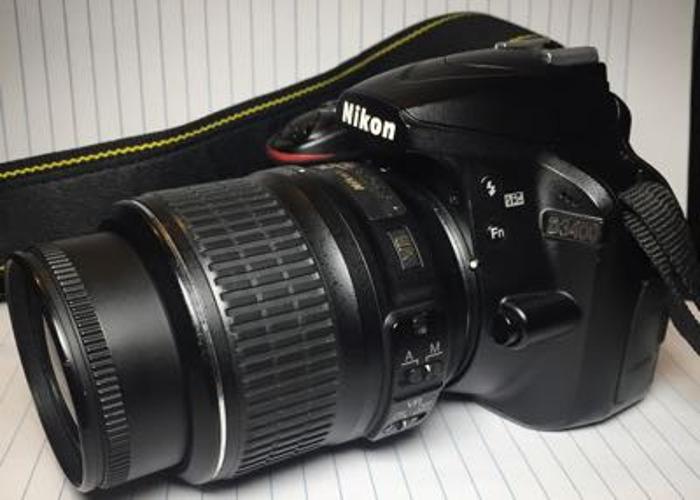 Nikon D3400 + 18-55mm lens - 1