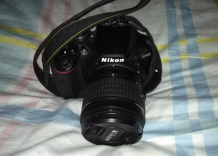 Nikon D3400 DSLR Digital Camera - 1