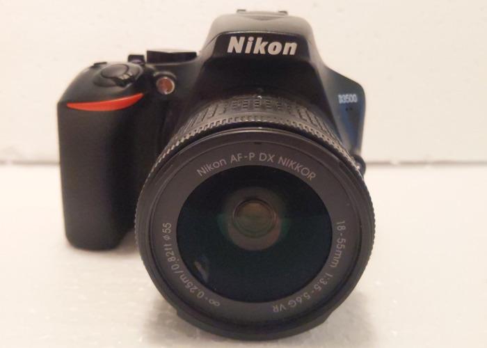 Nikon D3500 and 18-55mm f3.5-5.6 - 1