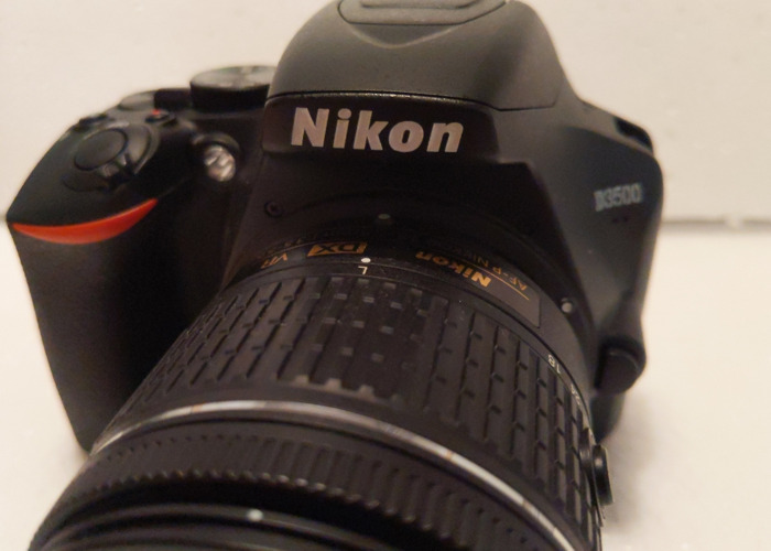 Nikon D3500 and 18-55mm f3.5-5.6 - 2