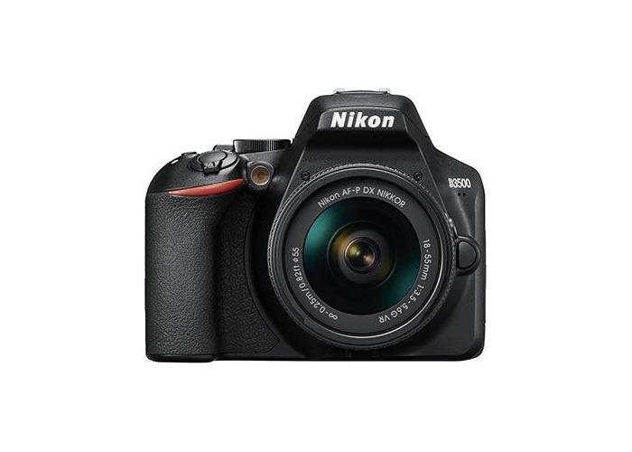 Nikon D3500 Digital SLR Camera with 18-55mm AF-P VR Lens - 1