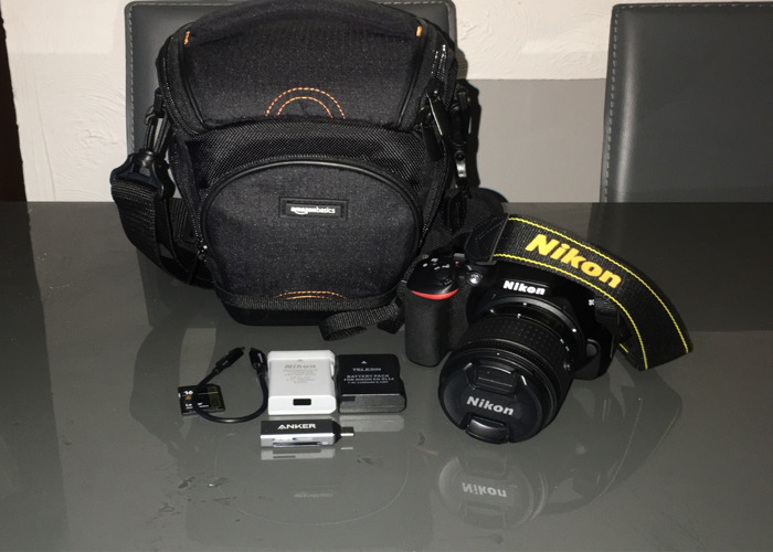Nikon D3500 with Accessories - 1