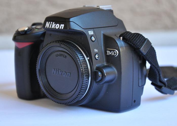 Nikon D40 Body - DSLR Camera - 1