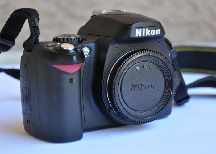 Nikon D40 Body - DSLR Camera - 2