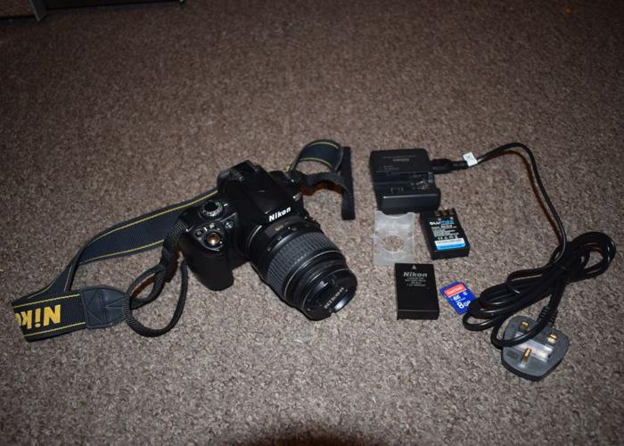 Nikon D40x DSLR camera with 18-55mm lens - 1