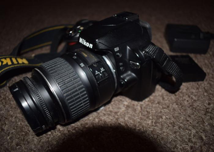 Nikon D40x DSLR camera with 18-55mm lens - 2