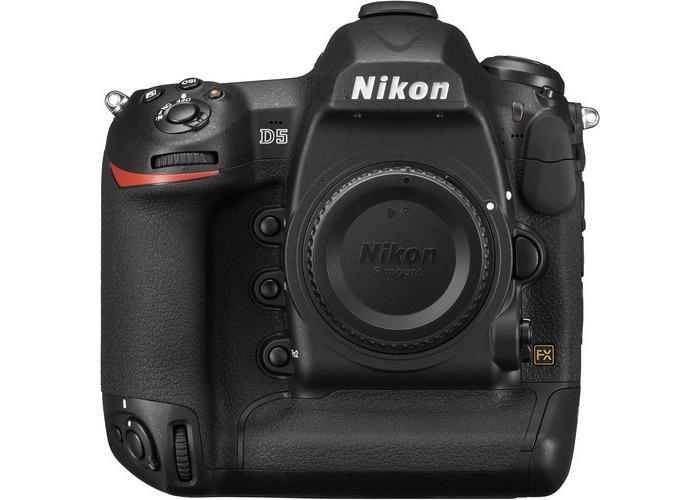 Nikon D5 DSLR Camera (Body Only, Dual XQD Slots) - 1