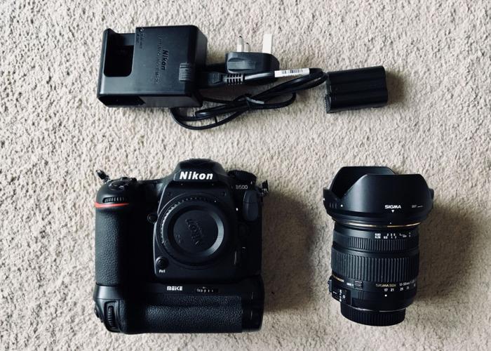 Nikon D500 + 17-50mm F2.8 + Grip + 2Batteries - 1