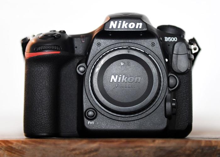 Nikon D500 DSLR Body - 1