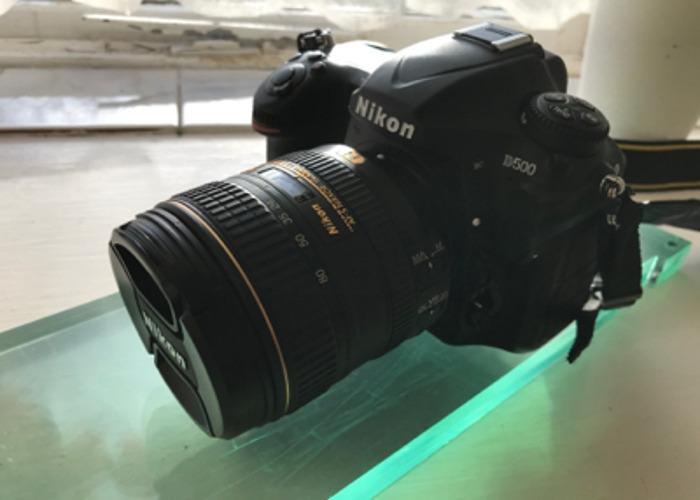 Nikon D500 with 16-80mm Lens - 1