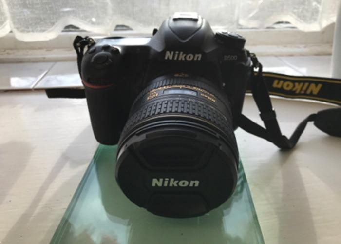 Nikon D500 with 16-80mm Lens - 2