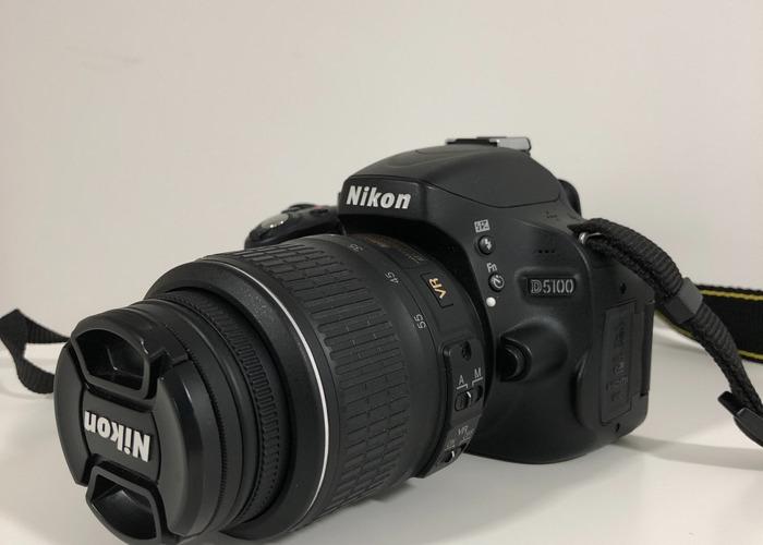 Nikon D5100 -18-55mm & 55-200mm Lenses - 1