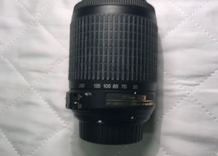 Nikon D5200, with 18-55mm and 55-200mm lens + TT560 FLASH - 2