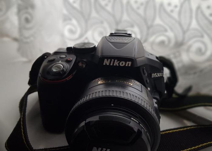 Nikon D5300 with 35mm Prime Lens - 1