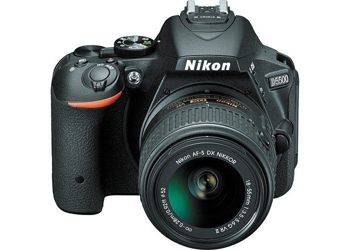 Nikon D5500 DSLR Camera with 18-55mm Lens (Black, Refurbished by Nikon USA) - 2