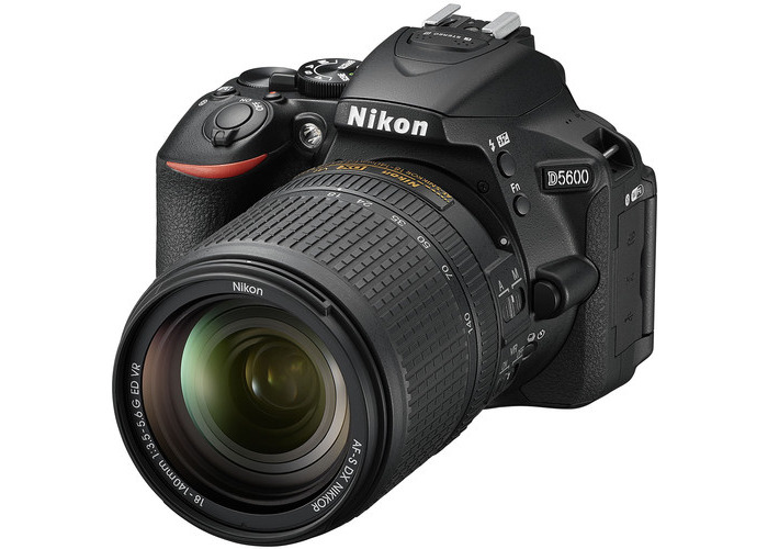 Nikon D5600 DSLR Camera with 18-140mm Lens - 1
