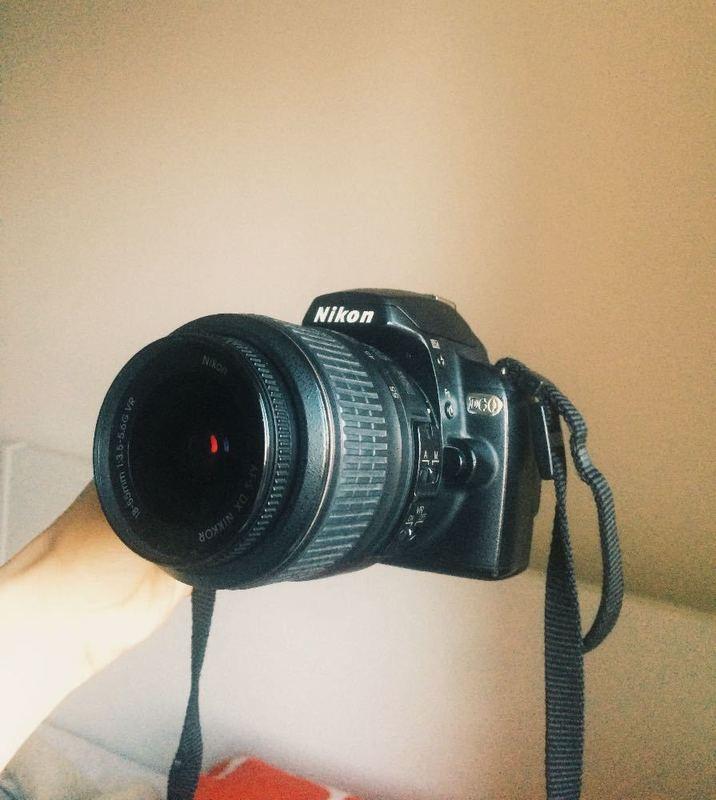 Nikon D60 Camera - with Lens & Strap - 1
