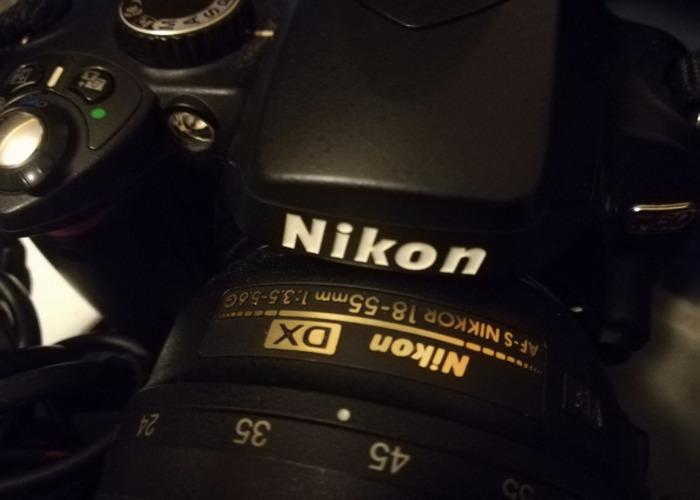 NIKON D60 Digital SLR Camera: Black (AF-S DX Nikkor 18 - 55) - 2