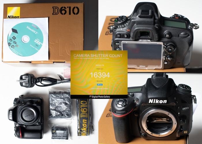 Nikon D610 camera body only - 1