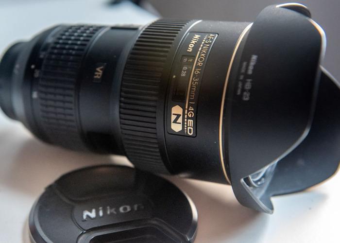 Nikon D610 Wide and Medium Zoom Lens Package 16-35 & 24-70  - 2
