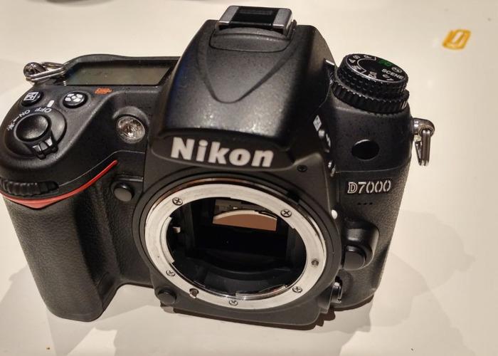 Nikon D7000 DLSR Camera - 1