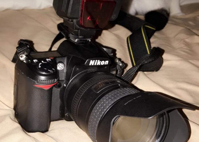 Nikon d7000+3 lenses and flash - 1