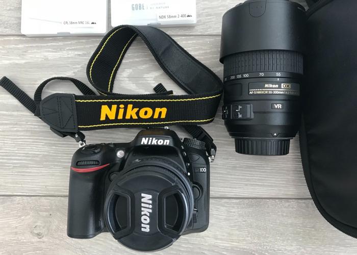 Nikon D7100, Sandstrom Bag, NDX & CPL filters, etc. - 1