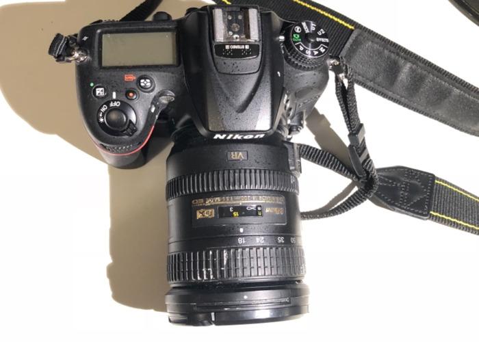 Nikon D7200 Kit AF-S 18-200mm VR II Lens - 1