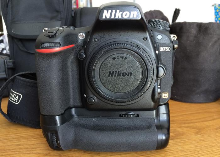 Rent Nikon D750 Camera and Nikon Battery Grip in Andover