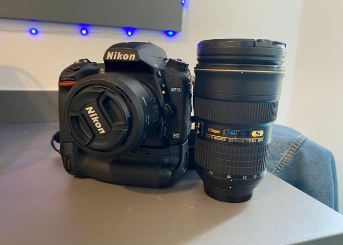 Nikon D750 kit with 2 lenses - 1