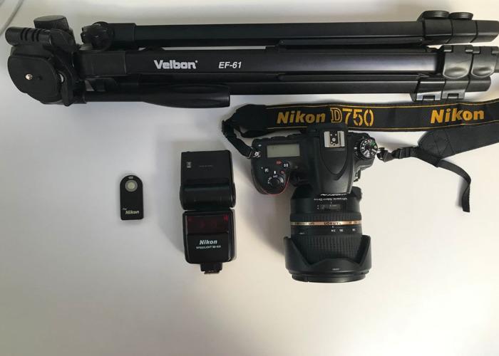 Nikon D750, Tamron SP 24-70mm F/2.8, Speedlight SB-600 - 1