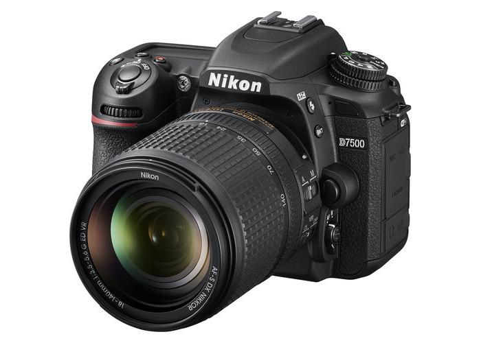 Nikon D7500 DSLR Camera with 18-140mm Lens - 1
