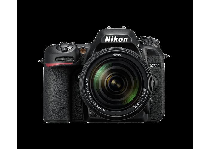 Nikon D7500 with 18-140mm f3.5-5.6G ED VR AF-S DX Zoom Nikkor Lens Kit - 1