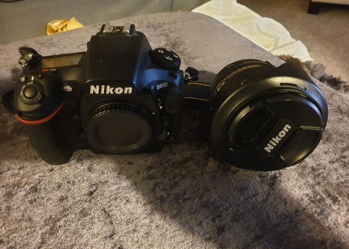 Nikon D810 DSLR Camera Body And Nikon 24-120 Lens - 1